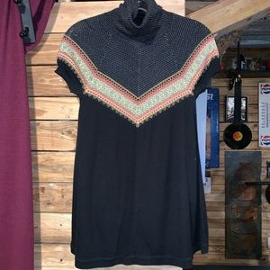 Free People Turtleneck Sweater Size Medium